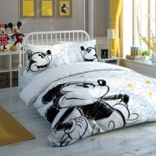 Lenjerie de pat Disney Minnie&Mickey 90 year TAC (Bumbac Ranforce)